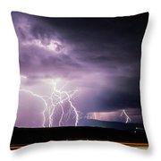 Light Show 002 Throw Pillow