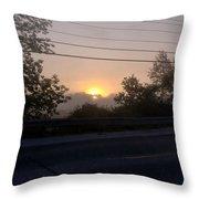 Lilac Dawn Throw Pillow