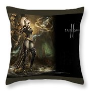 Lineage II Throw Pillow