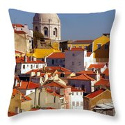 Lisbon View Throw Pillow