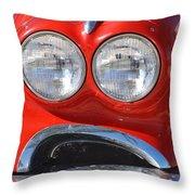 Little Red Corvette Throw Pillow