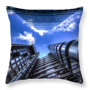 Lloyd's Of London And Cheese Grater Throw Pillow