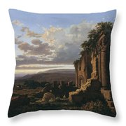 Lluis Rigalt Throw Pillow