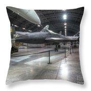 Lockheed, Yf-12a Throw Pillow