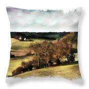 Loire Valley Throw Pillow