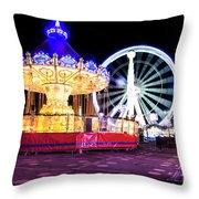 London Christmas Markets 15 Throw Pillow