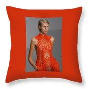 London Fashion Week 2015 Throw Pillow
