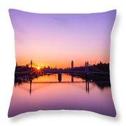 London Sunrise  Throw Pillow