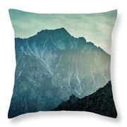 Lone Pine Peak Throw Pillow