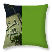 Fisher Island Exclusive Private Throw Pillow