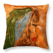Longing - Tile Throw Pillow