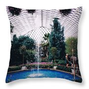 Longview Gardens Throw Pillow