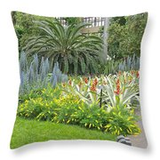 Longwood Gardens Conservatory  Throw Pillow