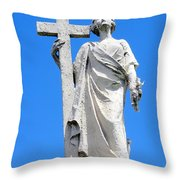 Looking To Heaven Throw Pillow