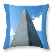 Looking Up At Bunker Hill Throw Pillow
