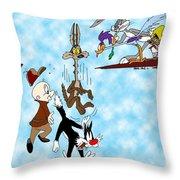 Looney Tunes Throw Pillow