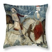 Lorenzetti: Good Govt Throw Pillow