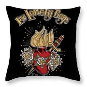 Los Lonely Boys Throw Pillow