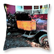 Lost Ford Throw Pillow