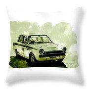 Lotus Cortina Throw Pillow