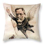 Louis Pasteur (1822-1895) Throw Pillow