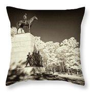 Louisiana Monument At Gettysburg Throw Pillow