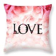 Love Heart Nd12 Throw Pillow