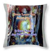 Love Of Christ Throw Pillow