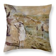 Love Ted, Seal Beach 1921 Throw Pillow