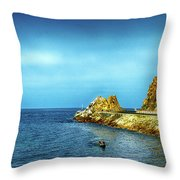 Lovers Cove Throw Pillow