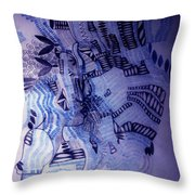 Loves Tryst Throw Pillow
