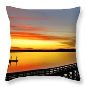 Lowcountry Autumn Throw Pillow