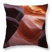 Lower Antelope Canyon 2 7902 Throw Pillow