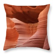 Lower Antelope Canyon 2 7934 Throw Pillow