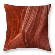 Lower Antelope Canyon 2 7947 Throw Pillow