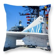 Ltv A-7 Corsair II  Throw Pillow