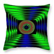 Luminous Energy 5 Throw Pillow by Will Borden