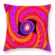 Luminous Energy 8 Throw Pillow by Will Borden