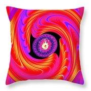 Luminous Energy 8 Throw Pillow