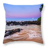 Lunar Paradise Throw Pillow