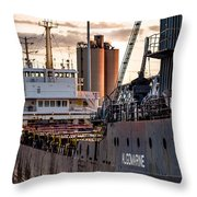 M/v Algomarine Throw Pillow