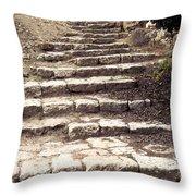 Maccabean Steps St Peter In Gallicantu Throw Pillow