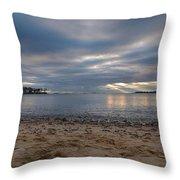 Mackerel Cove Throw Pillow