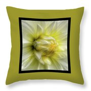 Macro Throw Pillow