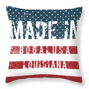 Made In Bogalusa, Louisiana Throw Pillow