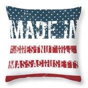 Made In Chestnut Hill, Massachusetts Throw Pillow