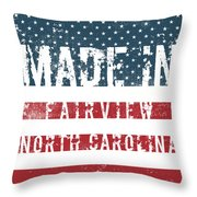 Made In Fairview, North Carolina Throw Pillow