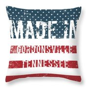 Made In Gordonsville, Tennessee Throw Pillow