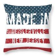 Made In Heislerville, New Jersey Throw Pillow