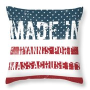 Made In Hyannis Port, Massachusetts Throw Pillow